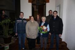 Übergabe Hausmeisterin DGH und Seniorentreff